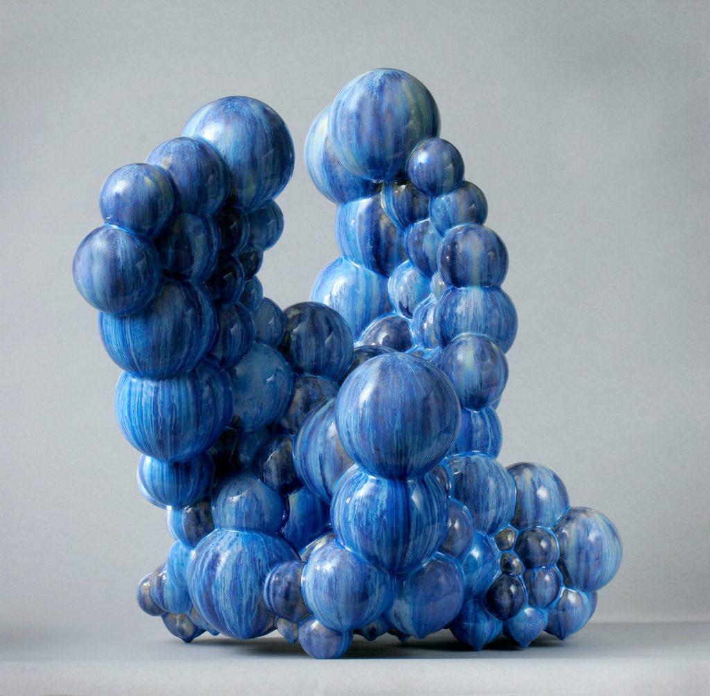 Bubbles II/2005 Height 58 cm.